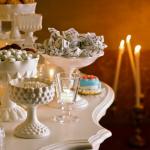 particolare tavolo dei docetti e confetti
