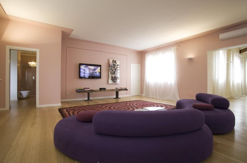La casa del glicine casa monofamiliare ravenna renato trussorenato trusso - Tinte per interni casa ...