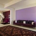 Sala del glicine - soggiorno e tappeto